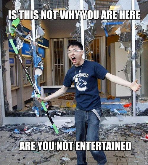 Vancouver riots kid